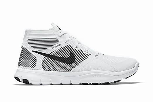 Excellent Mens Athletic Shoes - Nike Free Train Instinct White/Black