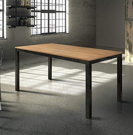 Tavolo Moderno In Rovere.Milani Home S R L S Tavolo Da Pranzo Moderno Di Design
