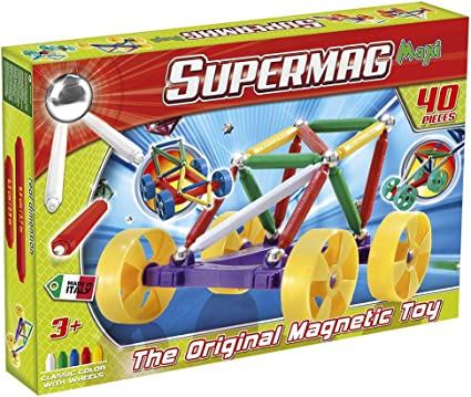 Plastwood SuperMaxi Wheels City Car (40 Pieces)