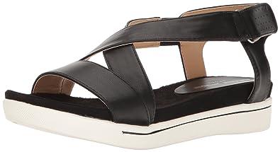 30804129ed5 ADRIENNE VITTADINI Footwear Women s Celie Sandal Black 6 ...