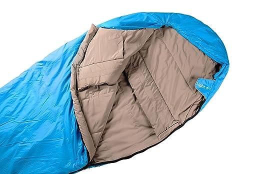 alvivo Saco de dormir Light 4 microfibra 220 cm: Amazon.es: Deportes y aire libre