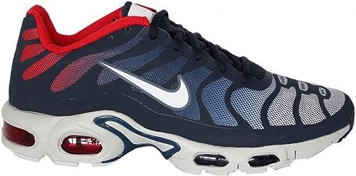 san francisco 3a8fa 0d70f Air Max Plus Fuse Tn Tuned Hyperfuse Mens degli addestratori delle scarpe  da tennis 483553 (UK 7.5 U  Amazon.it  Scarpe e borse