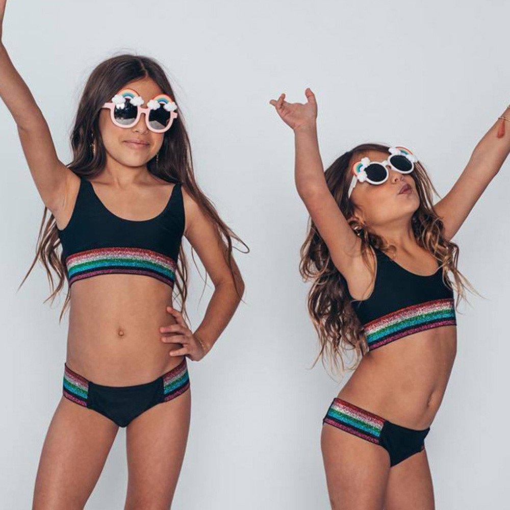 5602451993b K-Youth® Bañador para para Mujer Niñas 2019 Rebajas Madre e Hija Familia  Traje de baño Dos Piezas Bebé Niña Bikini para niñas Verano Playa Bañadores  Niña ...