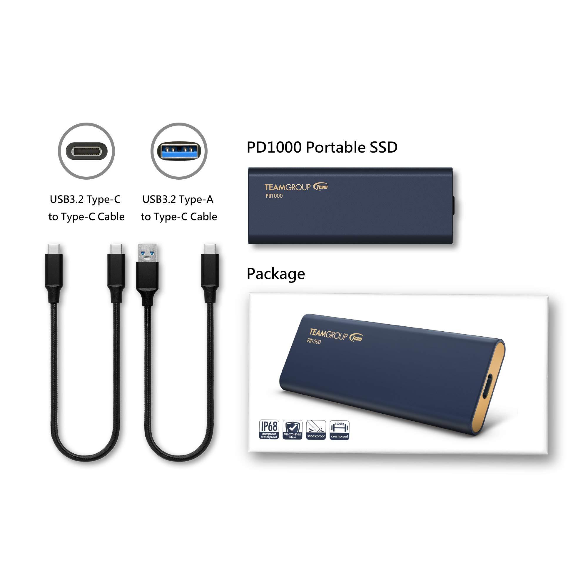 SSD di động TeamGroup PD1000