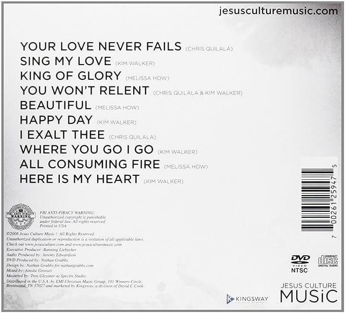 Jesus Culture Your Love Never Fails Cddvd Amazon Music