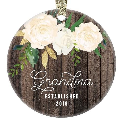 Amazon.com: New Grandma Christmas Ornament 2019 Pregnancy ...