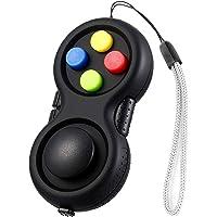 Sawcrocodile Fidget Pad med 8-Fidget-Funktioner Generation Fidget Toy Controller Stressreducer Handskaft Fidget Cube…