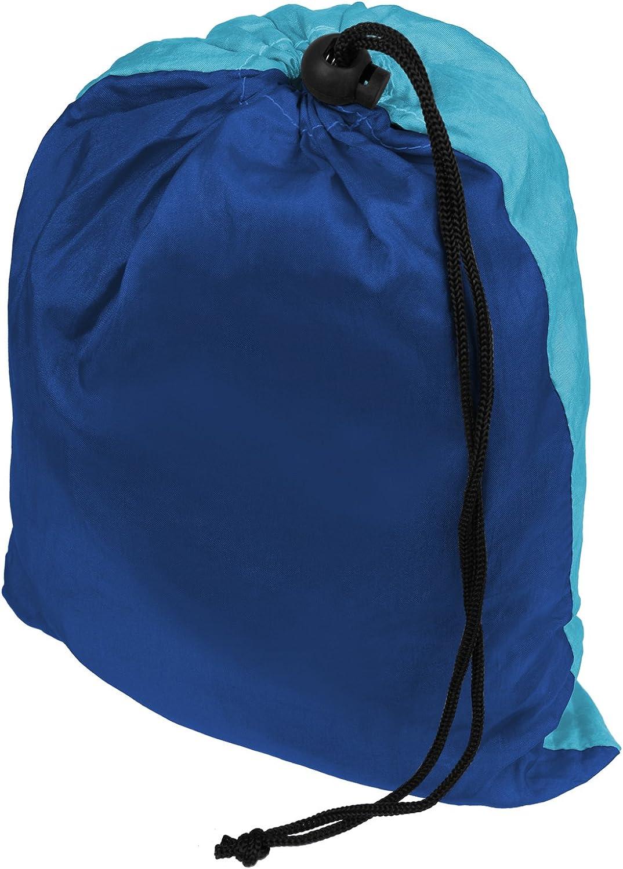BB Sport Hamaca Ultraligera de Nailon de paraca/ídas 265 x 140 cm Capacidad de Carga 300 kg Hamaca de Viaje Camping en Exteriores