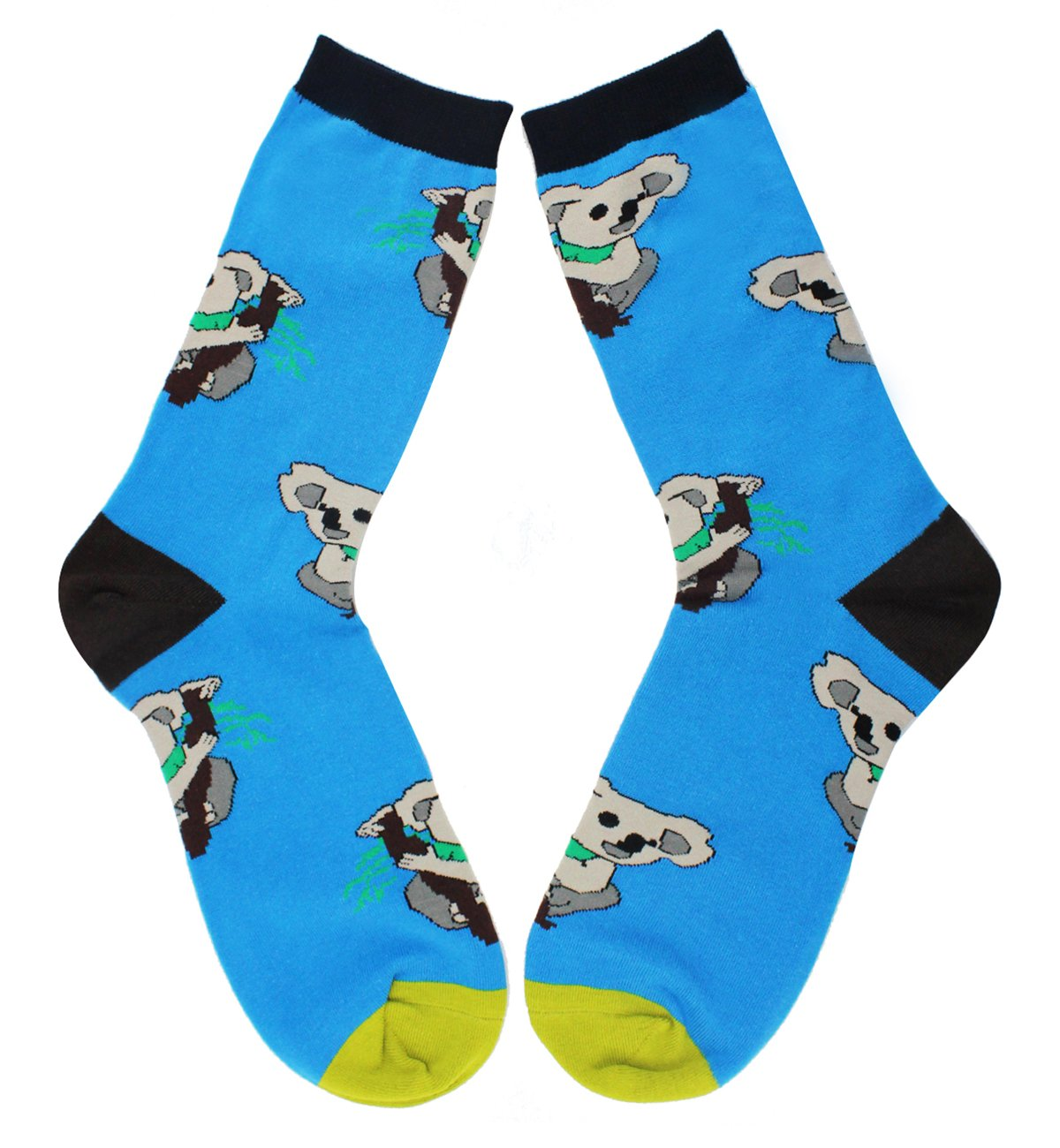 3 Pack Men's Crazy Cool Animals Pattern Novelty Crew Cotton Funny Socks by Happypop (Image #3)