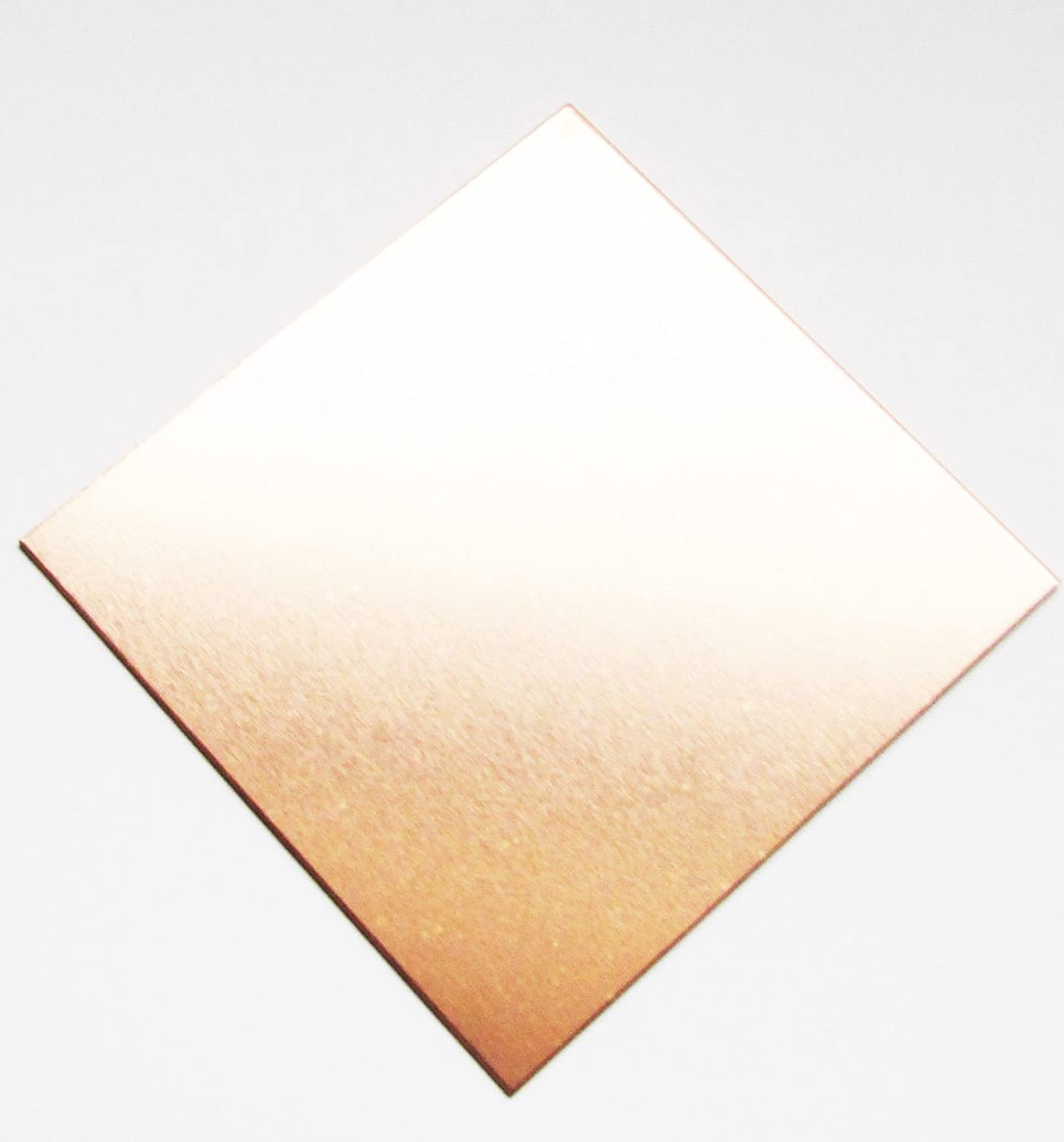 0.7mm Copper Sheet 250mm x 250mm ( Pack Of 3 ) TM Metalworks