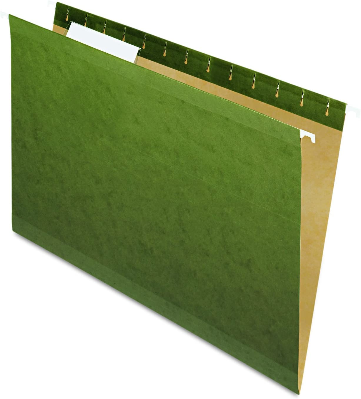 Pendaflex 415313 Hanging File Folders, 1/3 Tab, Legal, Standard Green (Box of 25)