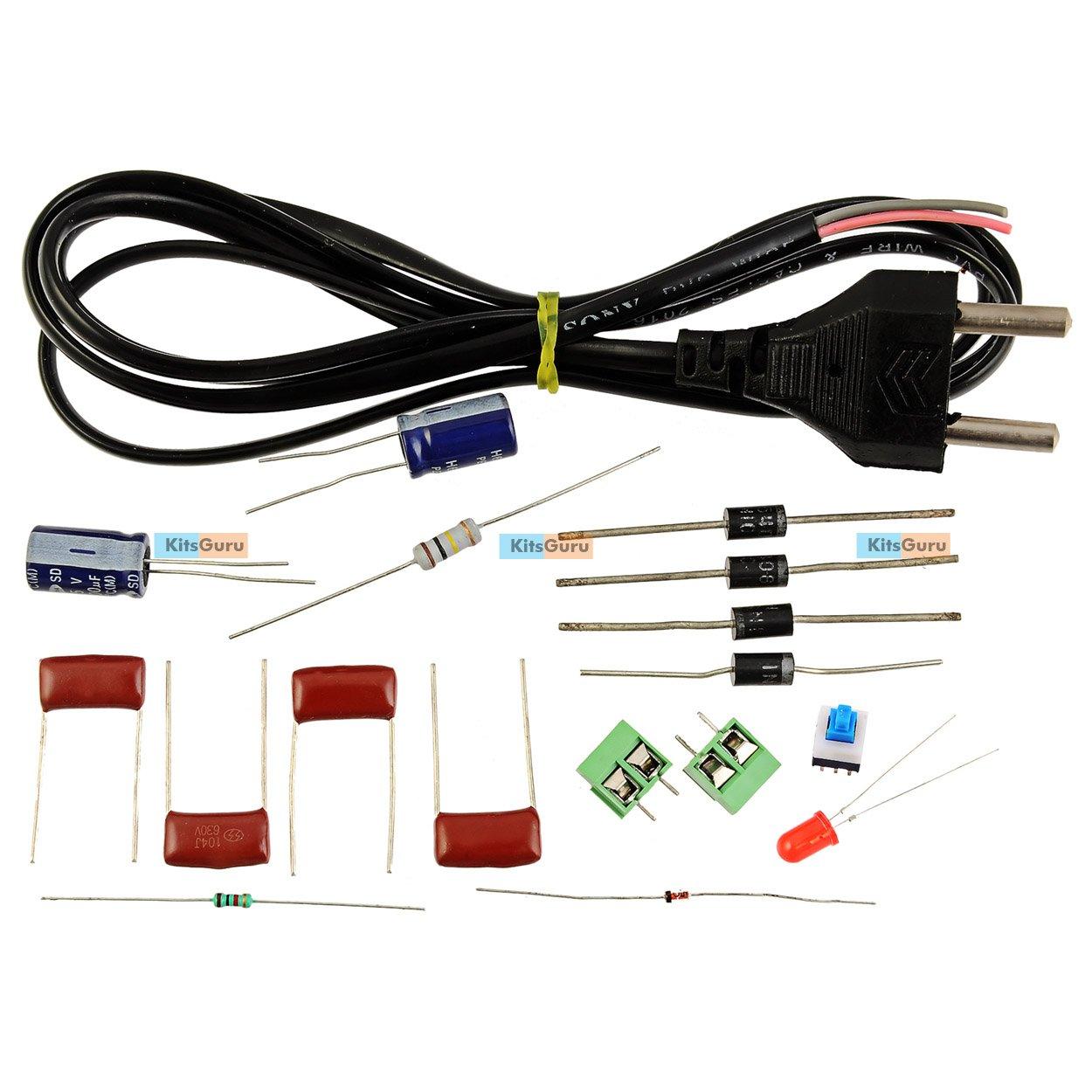 Diy Kit Transformerless Power Supply Lgkt113 Digital Circuits Current Circuit Diagram Centre