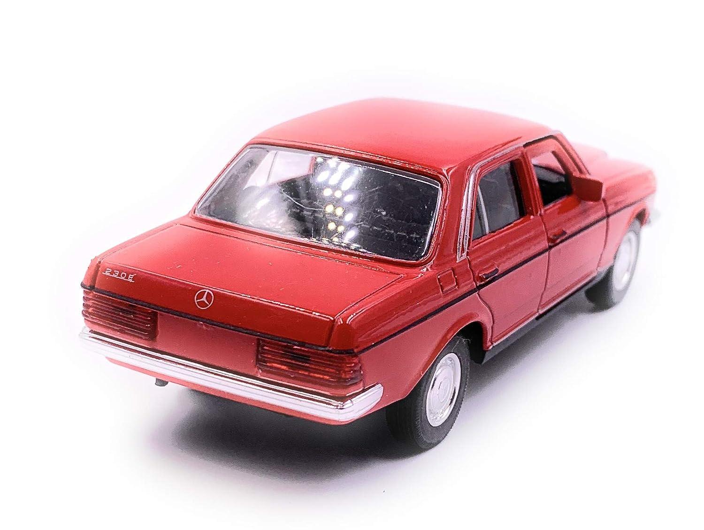 Onlineworld2013 E-Class W123 Color Aleatorio Model Car Auto Scale 1:34 con Licencia