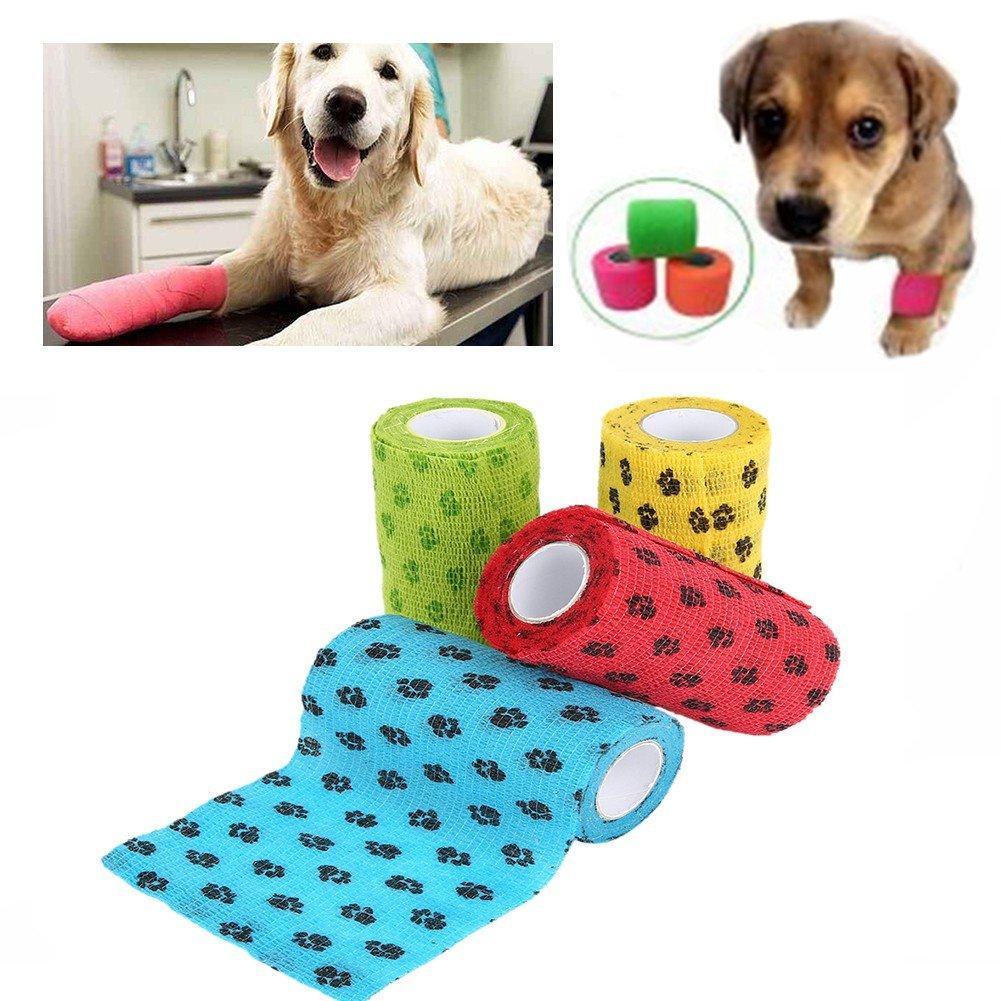 PanDaDa Pet Bandage Self-stick Pet Dog Cat Injury Care Bandage Non-slip Puppy Health Care Bandage