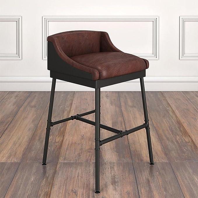 Amazon.com: Taburete Loft Retro Silla Antiguo Arte Bar Silla ...