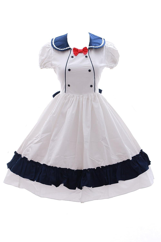el mejor servicio post-venta EUR Gr. Gr. Gr. M Kawaii-Story JL de 602 Miku Sailor Escolar Uniforme Lolita Vestido blancoo Harajuku Disfraz CosJugar Dress  diseñador en linea