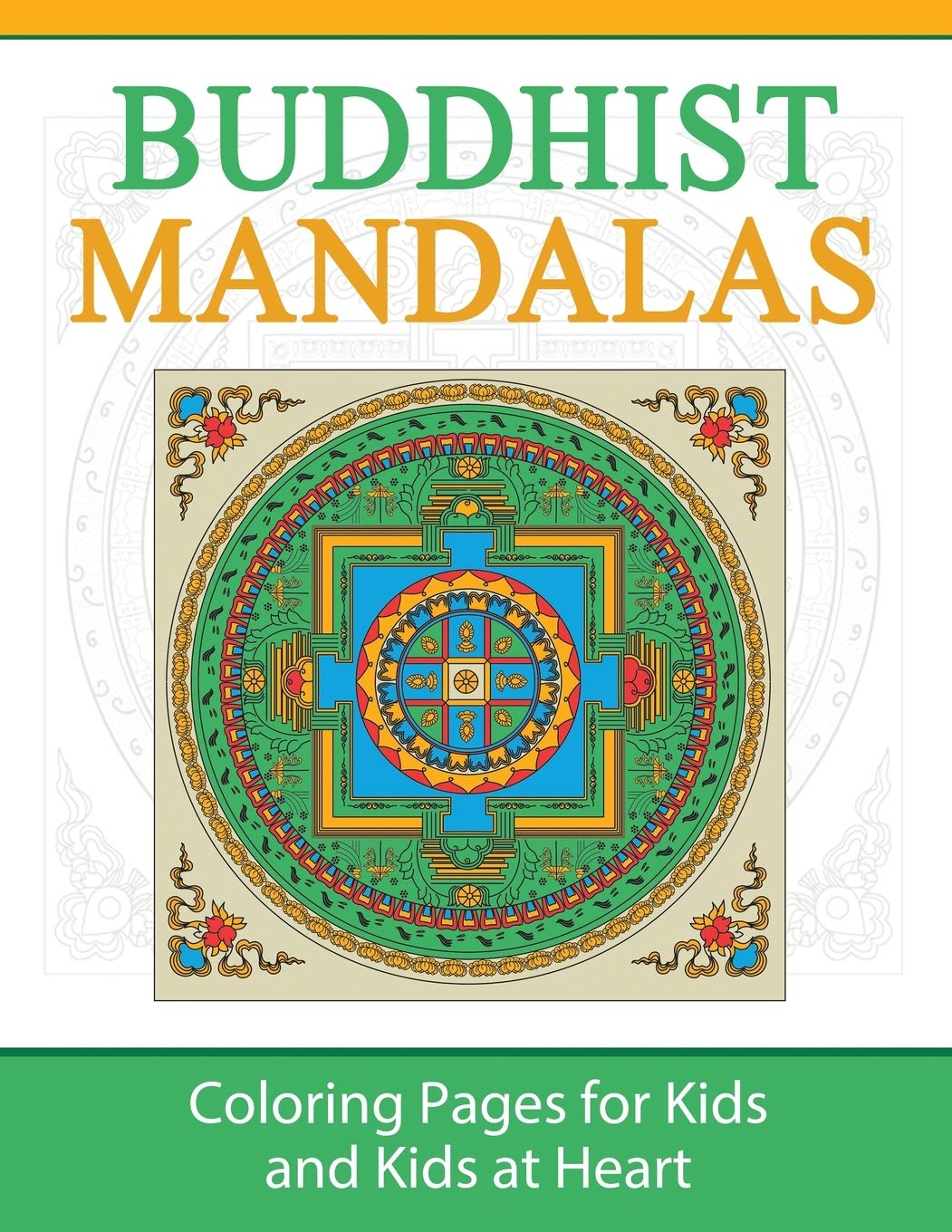 Buddhist Mandalas Coloring Pages For Kids Kids At Heart Hands On Art History Volume 3 Art History Hands On 9781948344241 Amazon Com Books