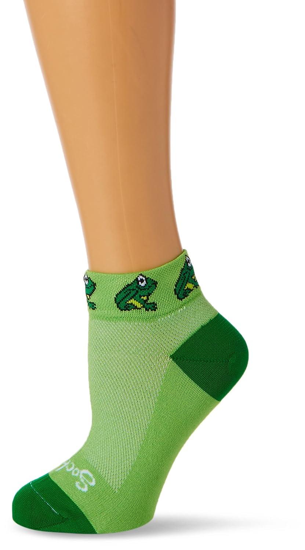 SockGuy - Froggy, Green, SM/MD SGLFROG