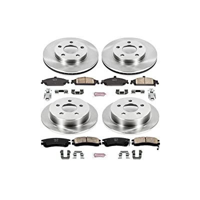 Autospecialty KOE1552 1-Click OE Replacement Brake Kit