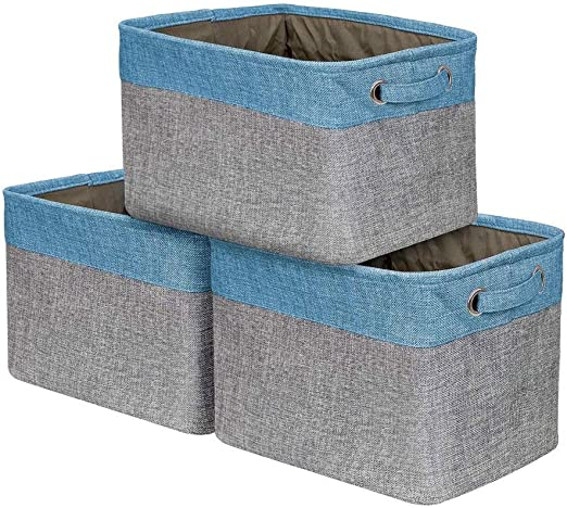 LDG Grande Caja Almacenaje [3 Paquetes] - Rectangular Grande ...