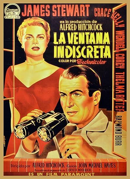Amazon Com 24 X36 Quality Poster La Ventana Indiscreta James