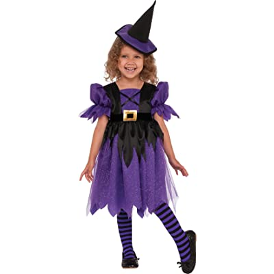 Rubie's Costume Sweet Witch Child Costume, Small, Multicolor: Toys & Games