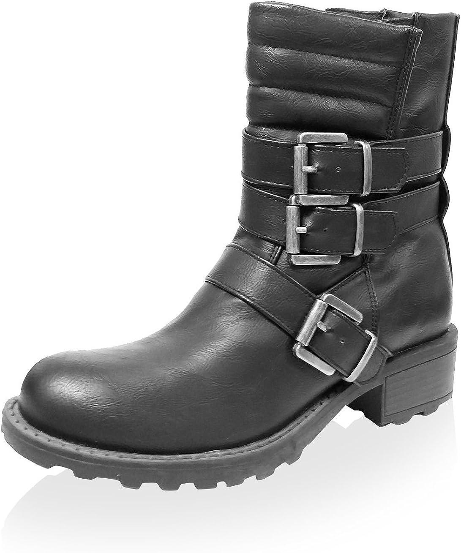Jacobies Womens Combat Boot