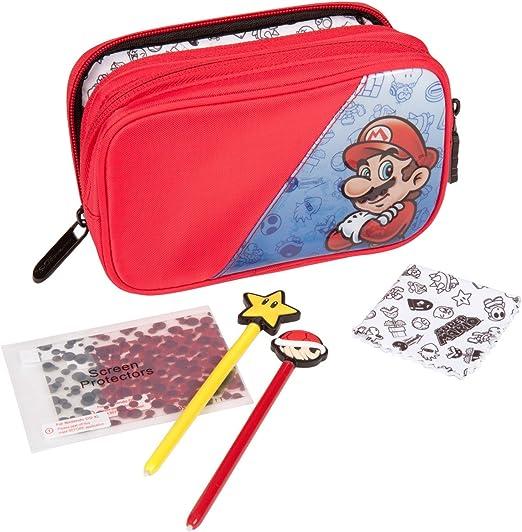 PowerA - Pack Super Mario De 5 Elementos Con Funda De Transporte ...