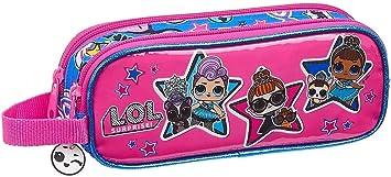 LOL Surprise 812020513 Together Estuche portatodo Doble 2 Cremalleras Escolar, Multicolor: Amazon.es: Equipaje