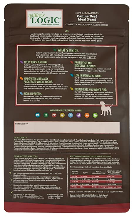 NATURES LOGIC Canine - Comida para Carne de Vacuno con ...