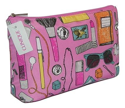 Clinique productos diseño y rosa maquillaje bolsa de ...