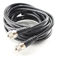 CablesOnline, 20ft RG8x Coax UHF (PL259) Antenna Cable