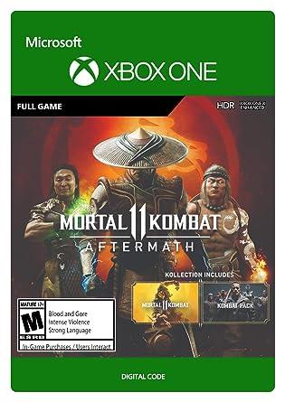 Amazon Com Mortal Kombat 11 Aftermath Kollection Xbox One
