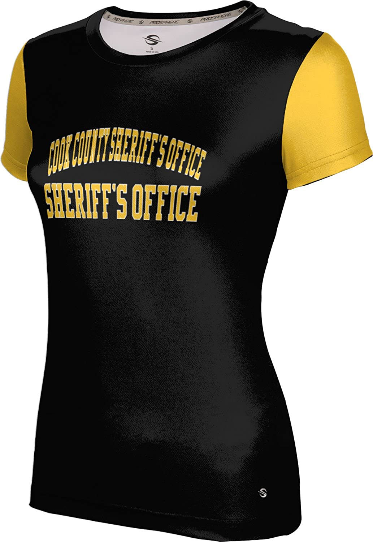 Women's Cook County Sheriff's Office Gov-Fire-Police Crisscross Tech Tee