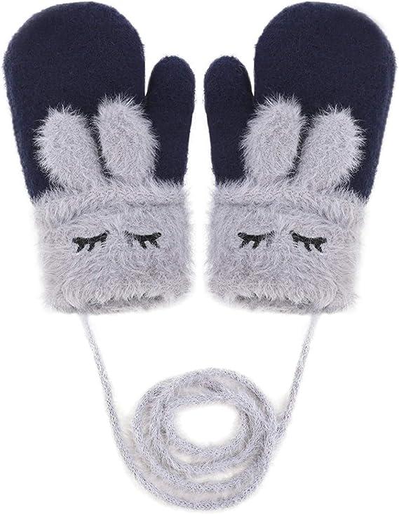 15cm Multi-a. caldi invernali in maglia motivo mimetico 6 1 paio di guanti magici elasticizzati per bambini e bambine