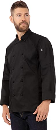 Chef Works Mens Bowden Chef Coat Chefs Jacket