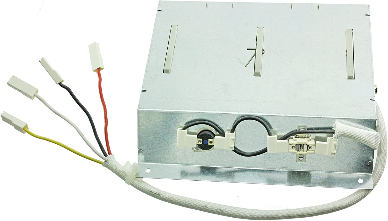 Spares2go elemento calefactor y termostatos para secadoras Otsein (2400W)