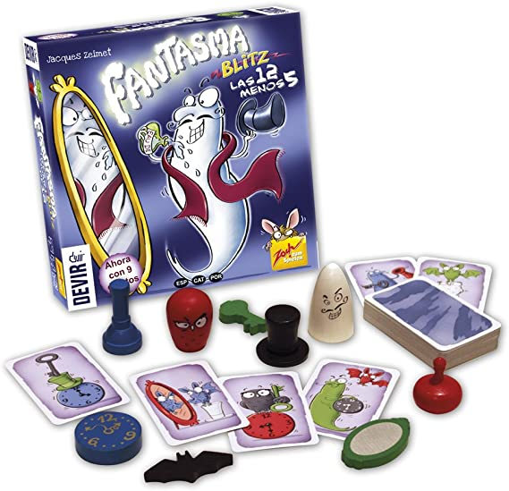 Devir- Fantasma Blitz-Las 12 Menos 5 Juego de Mesa, Multicolor (BGBLITZ3): Amazon.es: Juguetes y juegos