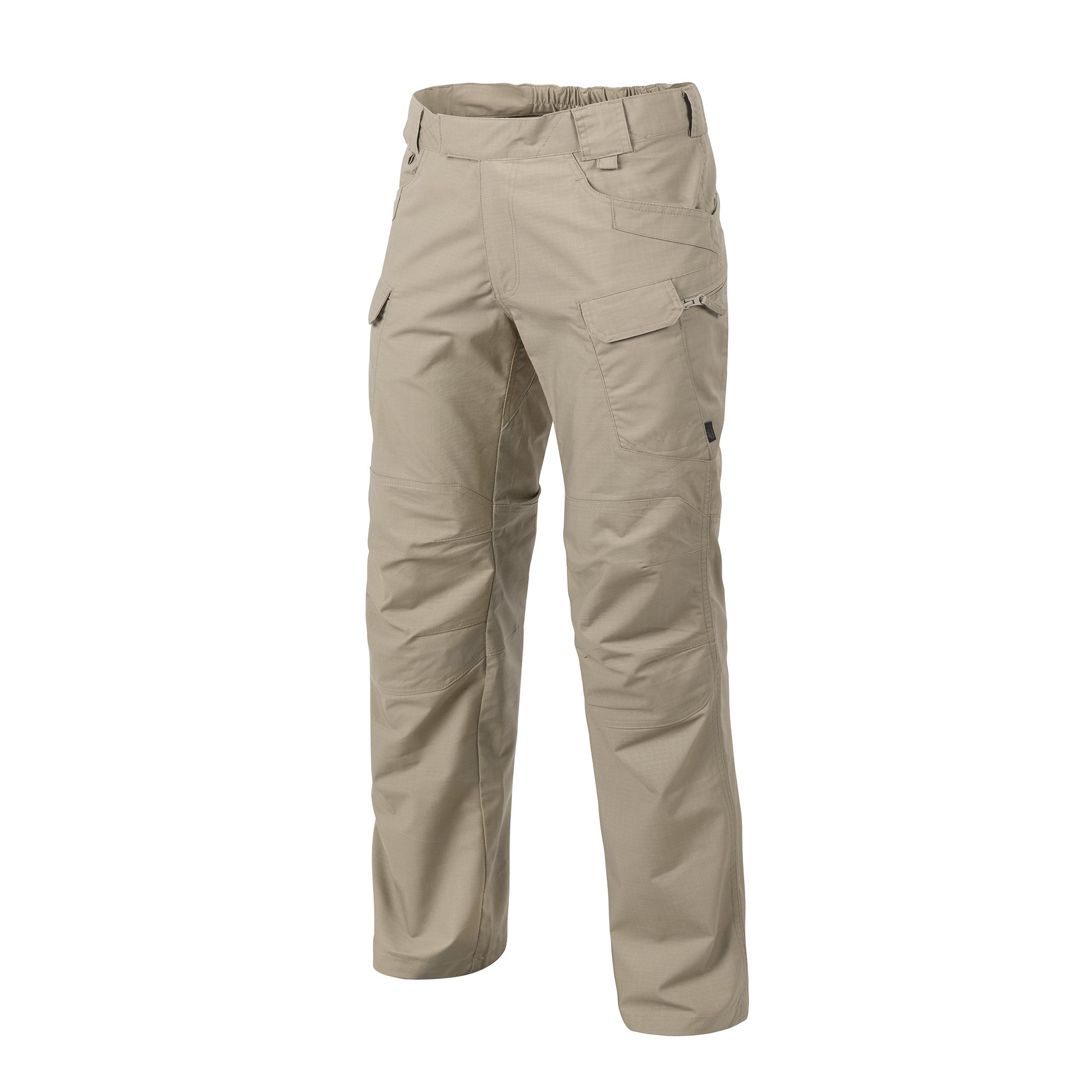 HELIKON-TEX Urban Line, UTP Urban Tactical Pants Ripstop Khaki, Military Ripstop Cargo Style, Men's Waist 38 Length 32