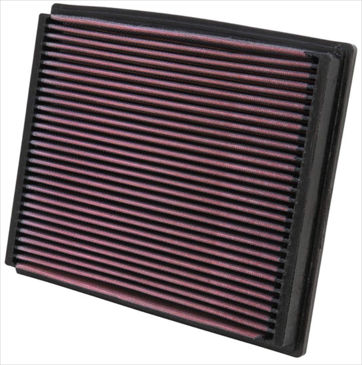 K&N 33-2125 Filtro de Aire Coche, Lavable y Reutilizable: Amazon.es: Coche y moto
