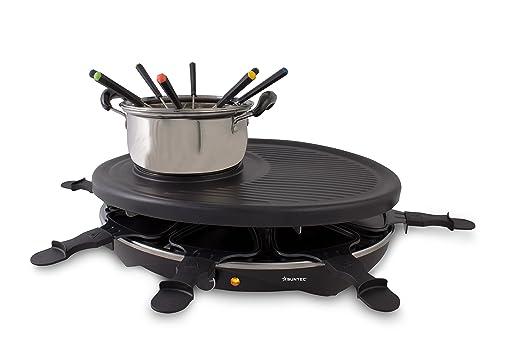 Severin Elektrogrill Kurzschluss : Suntec wellness rac 8458 raclette fondue set 2 in 1 set für bis zu