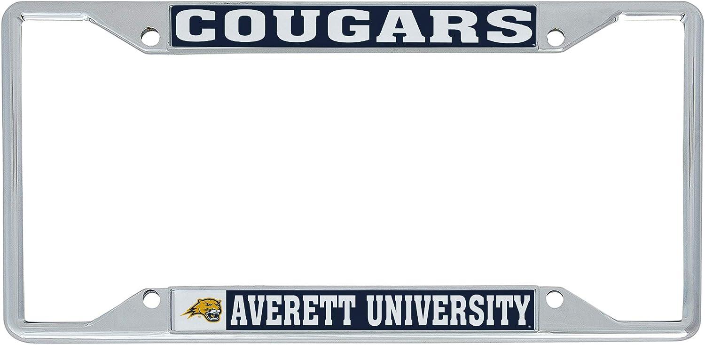 Desert Cactus Averett University Cougars NCAA Metal License Plate Frame for Front or Back of Car Officially Licensed Mascot