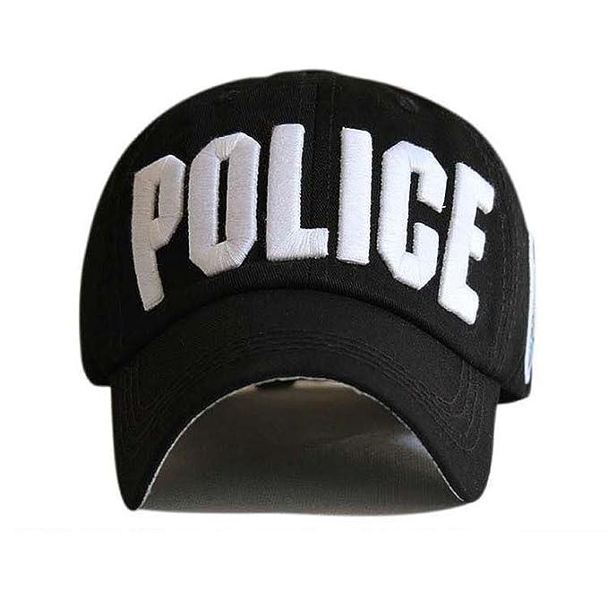 Amazon.com: Letter Baseball Caps Leisure Embroidery Baseball Cap Hats for Men Women Bone Cap Black: Clothing