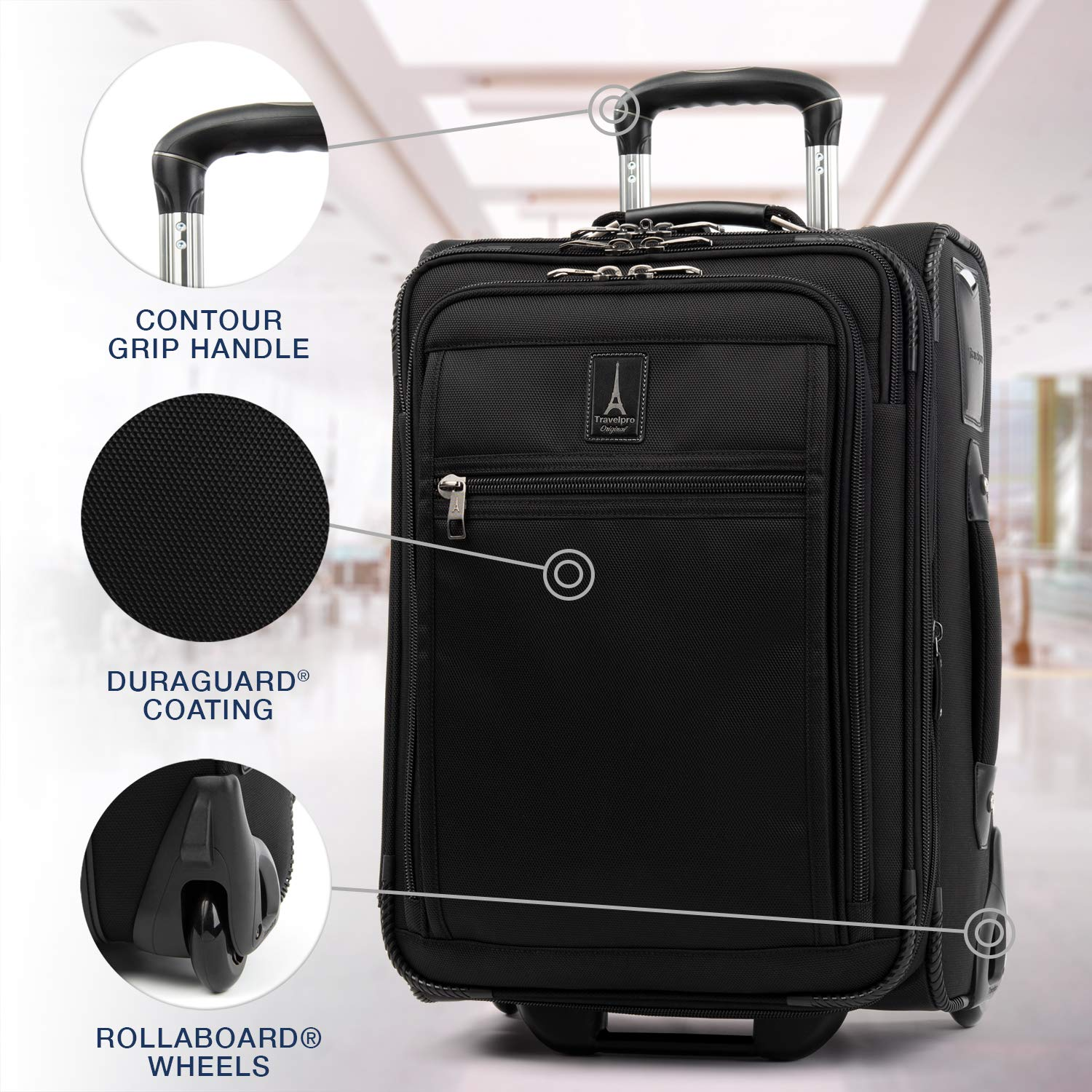 Travelpro Crew Expert Carry On Rollaboard