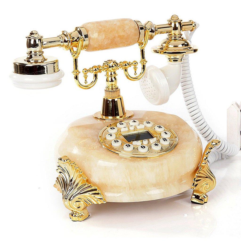 翡翠ファッション創造的な電話アンティークレトロ電話(ハンズフリー発光+発信者ID)   B076KN1JJT