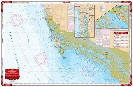 Amazon com waterproof charts 41 everglades fishing charts and