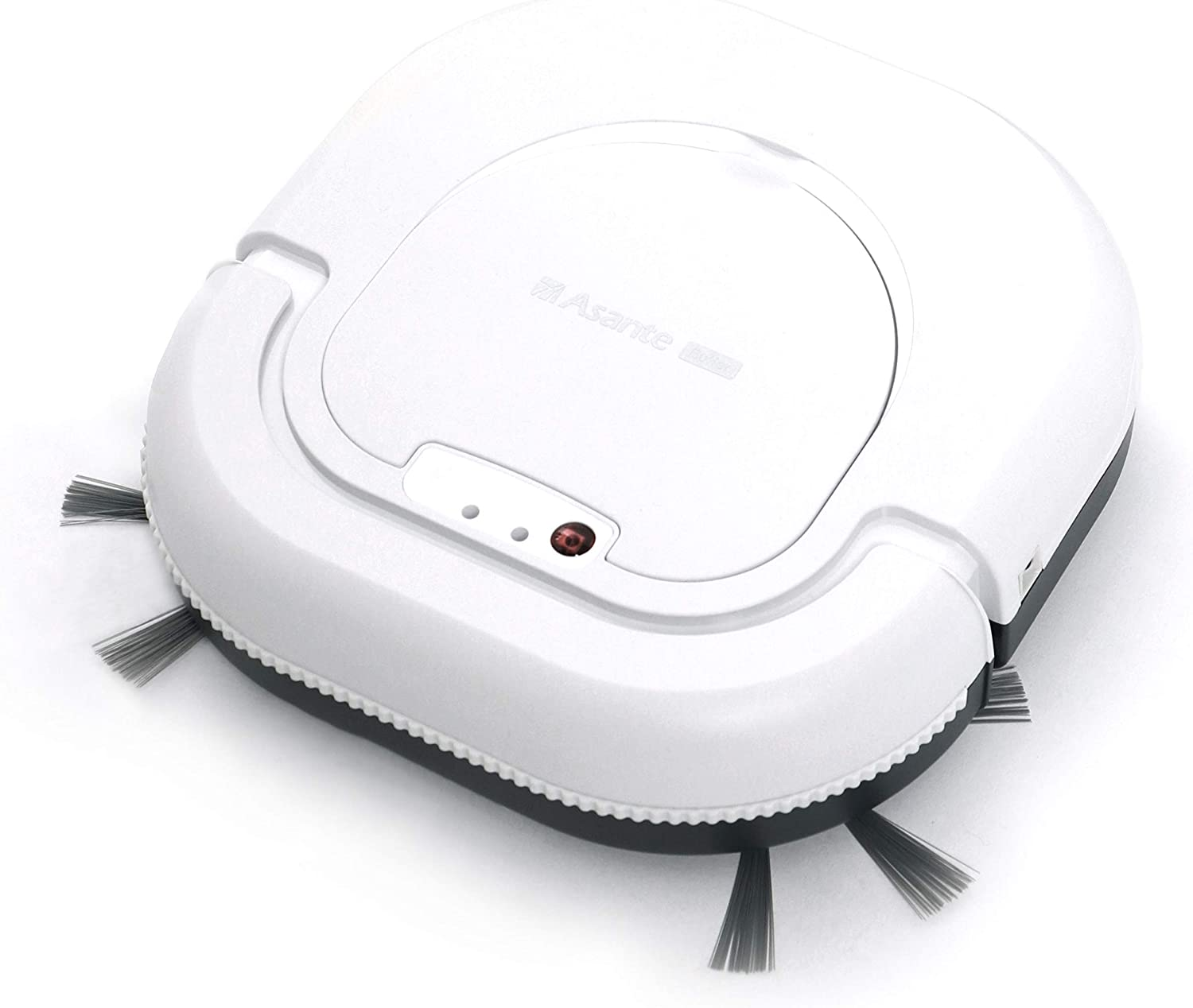 Asante Butler M1 Robot Vacuum Cleaner, Combined 2-Year Accessories, White
