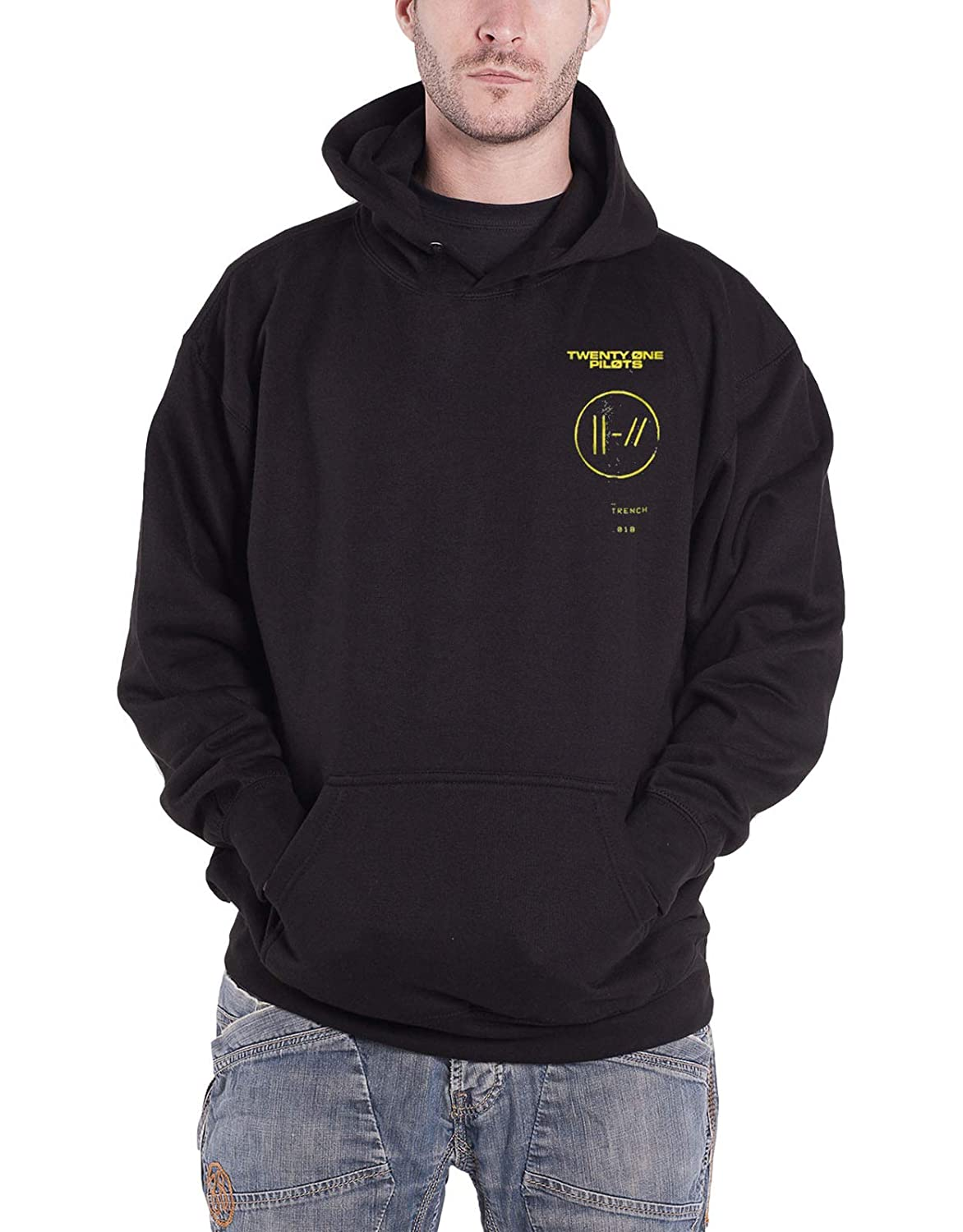 Twenty One Pilots Kapuzenpullover offiziell Trench Title Nue offiziell Herren Twenty One Pilots Merch