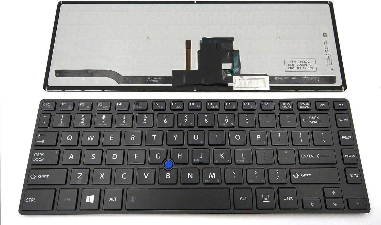 Toshiba Portege R30-A200SMB R30-A3101L R30-A3210K Keyboard US
