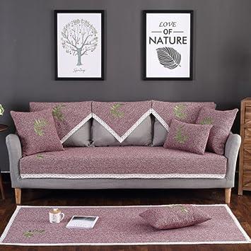 Nclon Funda para sofá Toalla de sofá Delgado Verano ...